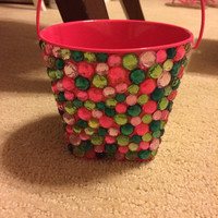 Rhinestone Watermelon Themed Pencil/Pin Holder
