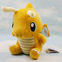 Cute Pokemon Plush Toys Dragonite Lovely Dragon Stuffed Animal Dolls