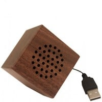 Flight 001 – Where Travel Begins.  Greenboom Mini Speaker Walnut - Gadgets - All Products
