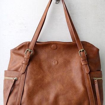 Carry Me Home Brown Handbag