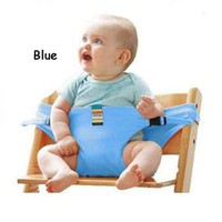 Baby Feeding Chair Portable Infant Baby Safety Belt Feeding High Chair Harness