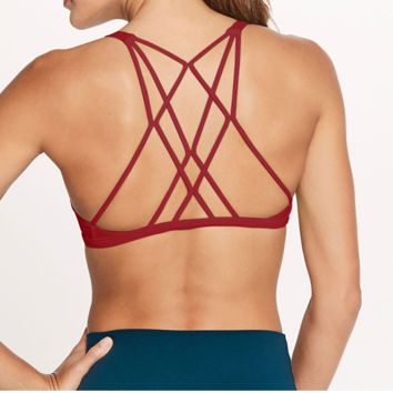 FASHION SEXY ONE PIECE Gal bodybuilding bra top without steel ring