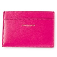 Saint Laurent 'Paris' cardholder