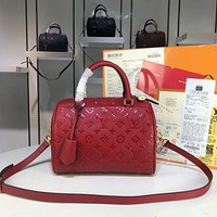 LV Louis Vuitton WOMEN'S Empreinte LEATHER SPEEDY HANDBAG SHOULDER BAG