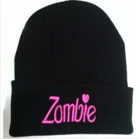 """Zombie"" Cotton Knitted Hat--CUTE!"