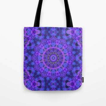 Mandala on my Mind Tote Bag by lyle58