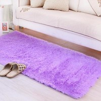 For Bedroom Strip Bedside Soft Big Carpets