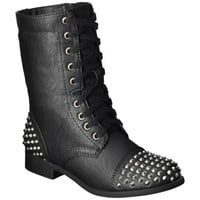 Women's Mossimo Supply Co. Kody Moto Boot - Black