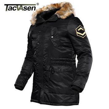 Trendy TACVASEN US Army Winter Parkas Military Tactical Jacket Men Cotton Windbreaker Male Thick Thermal Jacket Coat TD-DSPD-004 AT_94_13