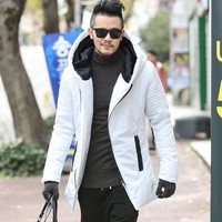 2017 Winter New Men's Jackets Thickening Winter Jackets Mens Cotton Coat Men Warm Parkas Male thick hooded coat outwear