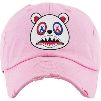 USA Baws Light Pink Dad Hat