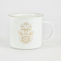 Wendylou Hamsa Mug White Combo One Size For Women 26051516701