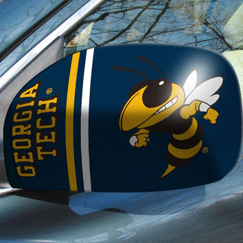 Georgia Tech Yellow Jackets Mirror Cover - Small