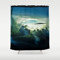 I Want To Believe Shower Curtain by minx267