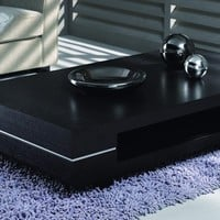 Modrest Cave - Modern Dark Ash Coffee Table