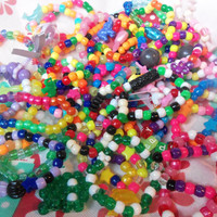Happy Kandi GrabBag: Thirty Colorful Kandi Bracelets