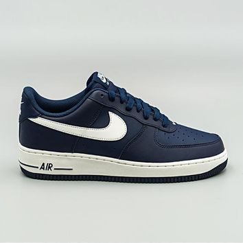 auguau NIKE - Men - Air Force 1 Low - Navy/White