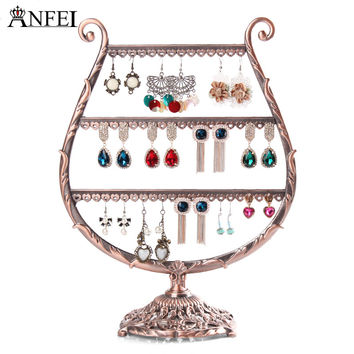 Free shipping Tree retro earrings ring jewelry rack to hang act the role ofing is tasted Receive a display shelf jewelry stand