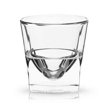 DOUBLE WALLED CHILLING WHISKEY GLASS