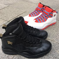 "Air Jordan 10 ""NYC"" Basketball Shoes"