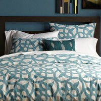 Organic Ironwork Duvet Cover + Shams
