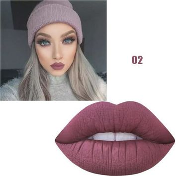 MISS ROSE batom Matte Waterproof matte  Lipstick
