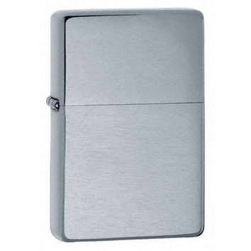 Zippo 23025 Vintage Series 1937 Brushed Chrome Plain Windproof Pocket Lighter