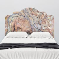 Paul Moore's Rocky Swirls Adhesive Headboard wall decal