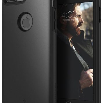 Caseology Legion Series iPhone 7 Plus Cover Case with Tough Rugged Heavy Duty Protection for Apple iPhone 7 Plus (2016) Only - Matte Black