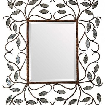 Flower Wall Mirror - Opulentitems.com