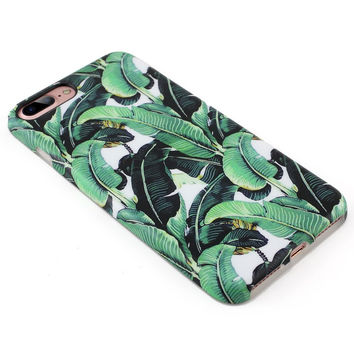 Banana Leaf Case for iPhone 7 7 Plus & iPhone 6 6S Plus