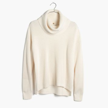 Convertible Turtleneck Sweater : | Madewell