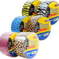 "Bazic 1.89"""" x 5 Yards Safari Series Duct Tape Case Pack 36"