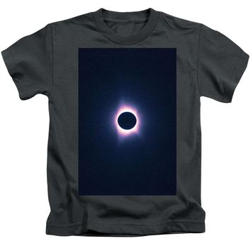 Solar Eclipse, Saros Cycle Painting - Kids T-Shirt
