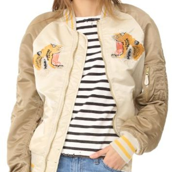 Tiger Oversized Souvenir Jacket