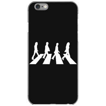 beatles white logo rock band legend iPhone 6/6s Case