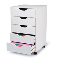 5-Drawer Rolling Letter Press
