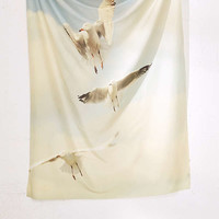 Happee Monkee For DENY Seagulls Tapestry   Urban Outfitters