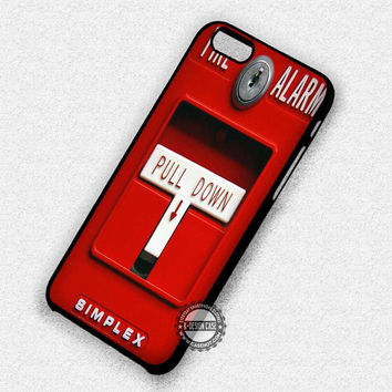 Fire Pull Alarm - iPhone 7 6 Plus 5c 5s SE Cases & Covers