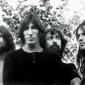 Pink Floyd Poster Bw 16inx24in