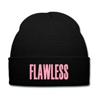 FLAWLESS | I WOKE UP LIKE THIS Knit Cap