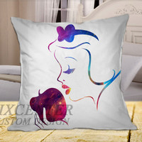 Disney Princess Snow White on Square Pillow Cover