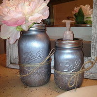 Decorative Mason Jar Soap Dispenser
