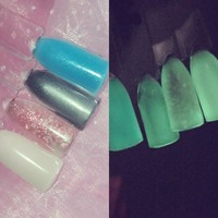 Nightlight glow in the dark Top Coat, Precious Minerals