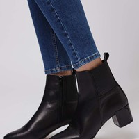 MARBLES Elastic Ankle Boots - Shoes