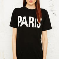 Truly Madly Deeply Iconic Paris Tee in Black - Urban Outfitters