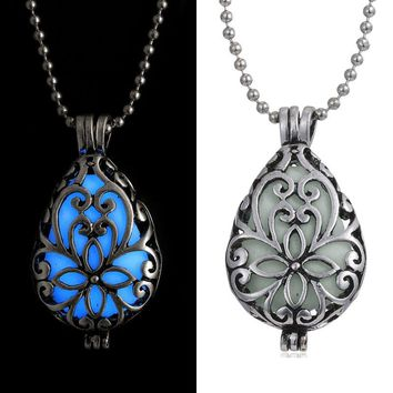 Glowing In The Dark Luminous Pendant Necklace