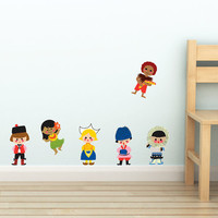 Small World Character Wall Decals from Disney