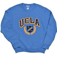 UCLA Bruins Laurel/Crest Crewneck Sweatshirt - Blue