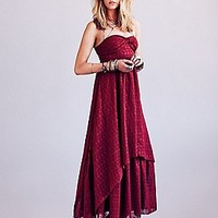 Free People  Eyelet Indian Enchantment at Free People Clothing Boutique
